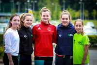 IAG16 Sorcha Lavelle, Caitlin Love, Mona McSharry (European Swimmer), Natasha Love & Ellie McCartney