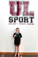 IAGD2 - Sorcha Lavelle with Gold Medal outside UL Sport